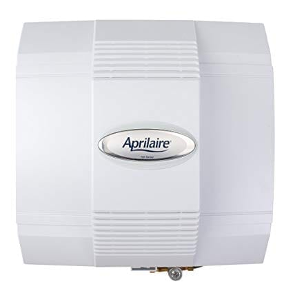 aprilaire brand humidifier unit
