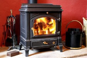 Traditional Stove Fireplace