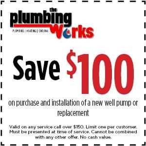 save 100 well pump installation